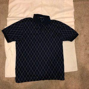 Nautica pattern polo shirt!